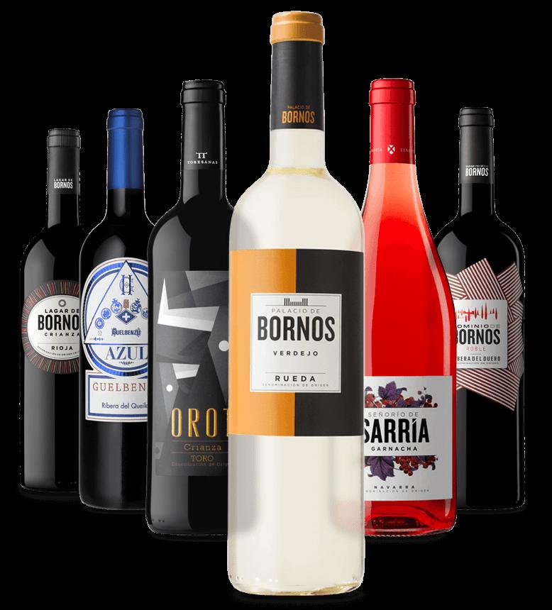 BORNOS Bodegas & Viñedos - La gama completa